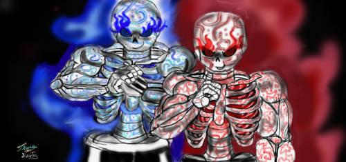 Super Sans  super Cross Alimate Supers badass(1) by Bugssayian27