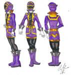 Gokai Lavender Profiles by LavenderRanger
