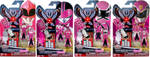 FAKE Breast Cancer Awareness - Pink Ranger Keys by LavenderRanger