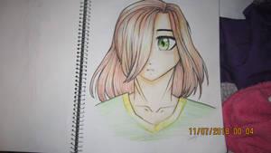 OC Portrait - N by CherryNova28