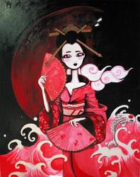 Geisha pink by mokona73