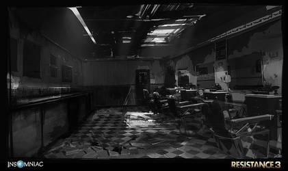 Resistance 3- Haven Barbershop by dee-virus
