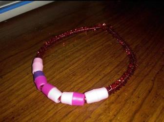 Red Custom Bracelet by iiLetsRockx2