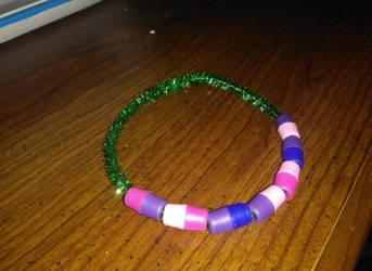 Green Custom Bracelet by iiLetsRockx2