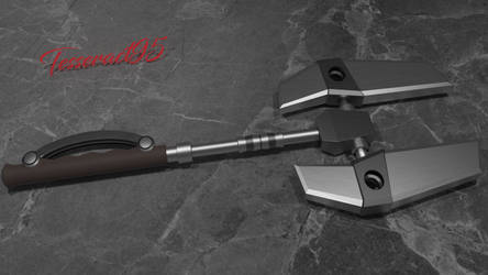 Fan Made Ratchet and Clank Wrench by Tesseract95