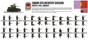 Cimbri 9th Infantry Division by Another-Eurasian