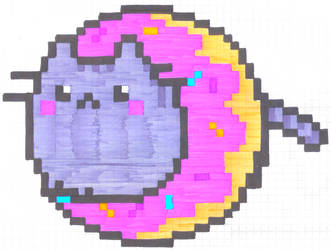 Nostra Drawing 3 0 Pusheen Cat Donut By