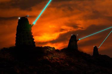 Exterminated By Sunset by TonyStarkHarrison