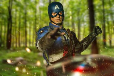 Captain America by TonyStarkHarrison