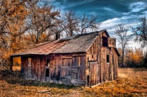 Grandpa's Barn by oldhippieart