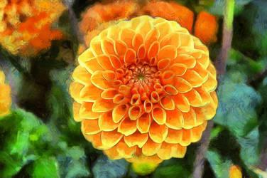 Flower2 by oldhippieart
