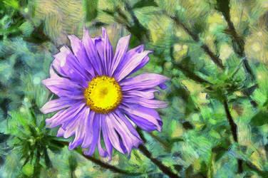 Flower3 by oldhippieart