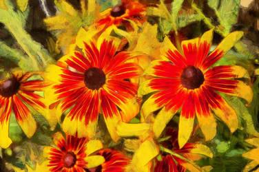 Flowers6 by oldhippieart