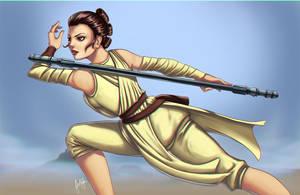 Star wars - Rey by Julie-Ju