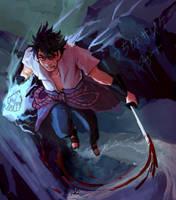 sasuke uchiha by slagsniper