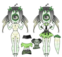 Xynthii Adopt: Monster Eyes: CLOSED by ObsceneBarbie