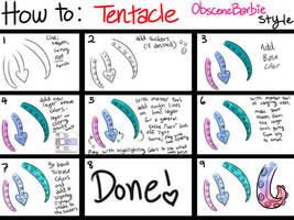 How To: Tentacle: ObsceneBarbie Style by ObsceneBarbie
