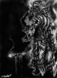 Samurai smoke by Slevenv2