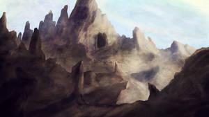 Mountain Gate by Atik1n