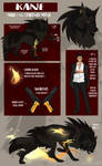 Kane Reference Sheet by BeastyBby