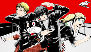 Persona 5 by MangAsep