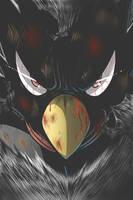 Boku no Hero Academia - Jet-Black Hero Tsukuyomi by kentaropjj