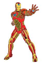 Iron Man Coloring by godzilla898