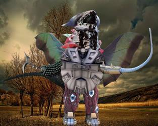 Kaiju Mashup Thingy by godzilla898