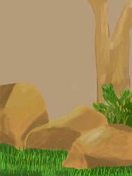 Rocks and Grass by godzilla898