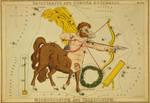 Vintage Astrology-Sagittarius by HauntingVisionsStock