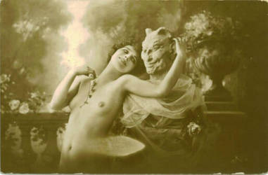 Lucifer's Muse by HauntingVisionsStock