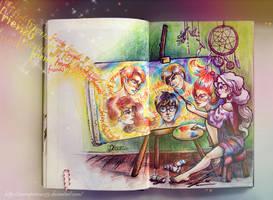 Luna Lovegood by MoonPrincess93