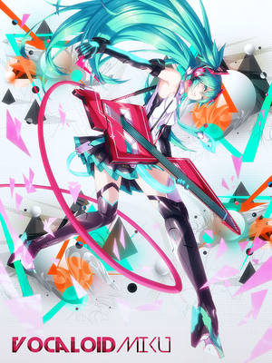 Vocaloid Miku by xStree