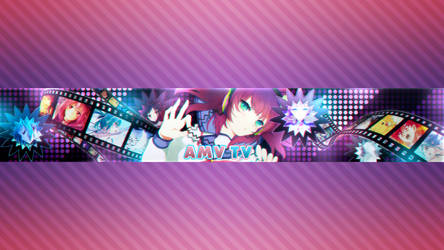 Youtube Banner AMV TV by xStree