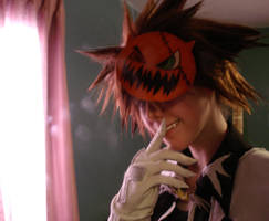 Halloween Sora Cosplay by ilovebluejello