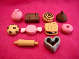 CandyLand Monopoly game pieces by stefania-zee