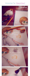Colouring Tip: Coloured pencil dust by muffinmimi