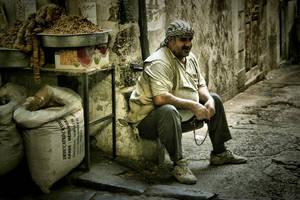 The Nut Seller by Nour-K
