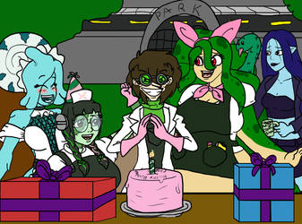 Happy Birthday Dr Crafty! by RM-Keyblade-Mistress