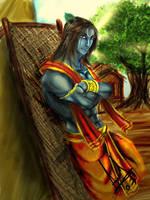 krishna by molee