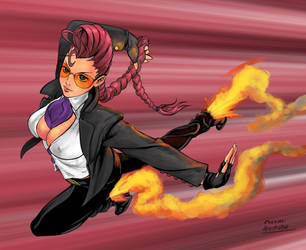crimson viper by molee