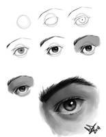 Eyes Steps by molee