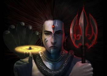 Hari-Hara by molee