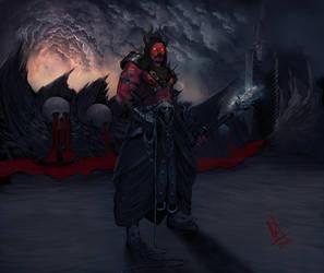 Yama-God of Death by molee