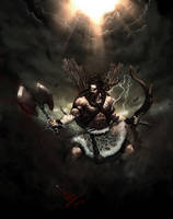 Bhaargava-The axe warrior by molee