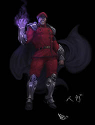 M Bison / Vega by molee