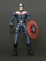 Marvel Legends Captain America redesign custom by LuXuSik