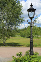 Stock Old Lamp Post by minifoot