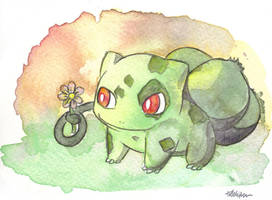 Bulbasaur by The-EverLasting-Ash