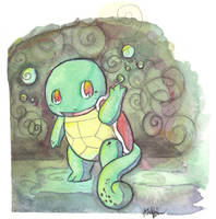 Squirtle by The-EverLasting-Ash